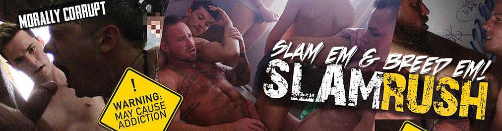 Slam Rush gay porn