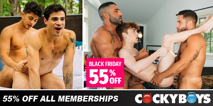 CockyBoys Black Friday Discount