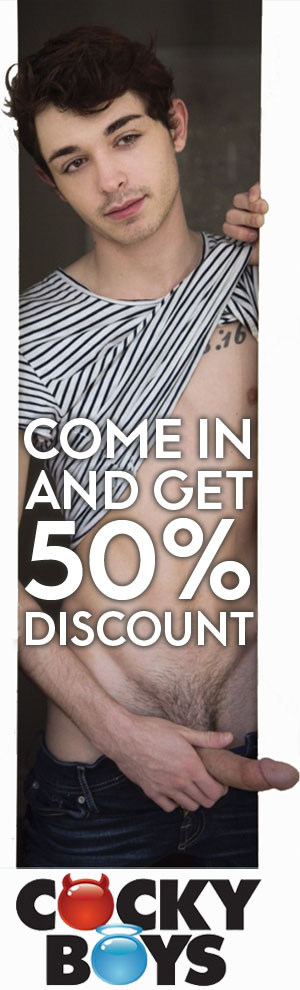 CockyBoys 50% discount