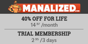 40% OFF at Manalized